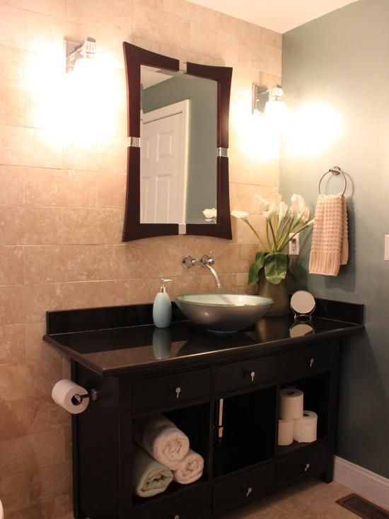 Mirror in bathroom: Decorating With Mirrors: Home Decorating Ideas