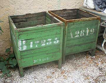 WWII ammunition cases