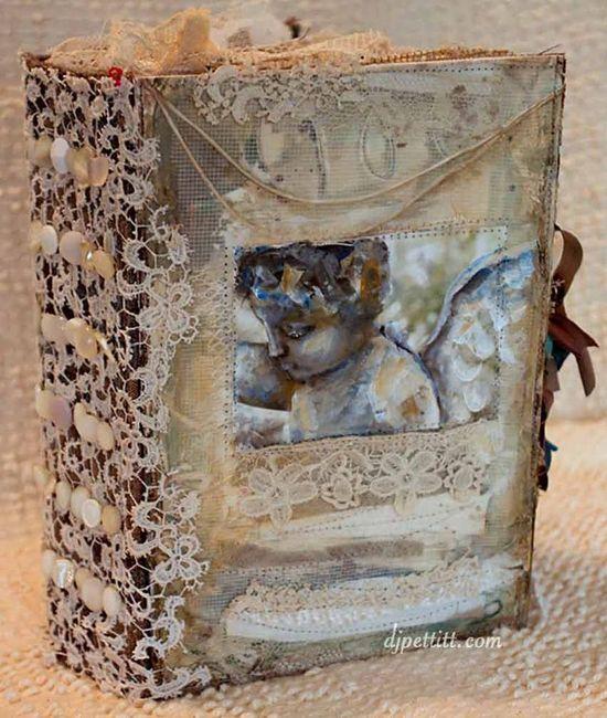 dj pettitt - Samples of her beautiful Art Books and Journals