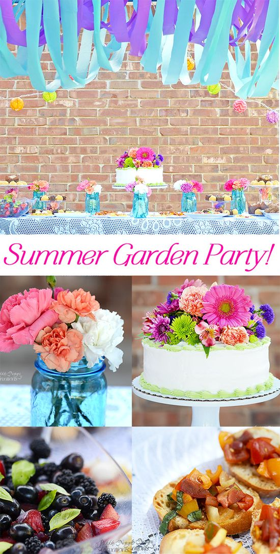 Summer Garden Party!