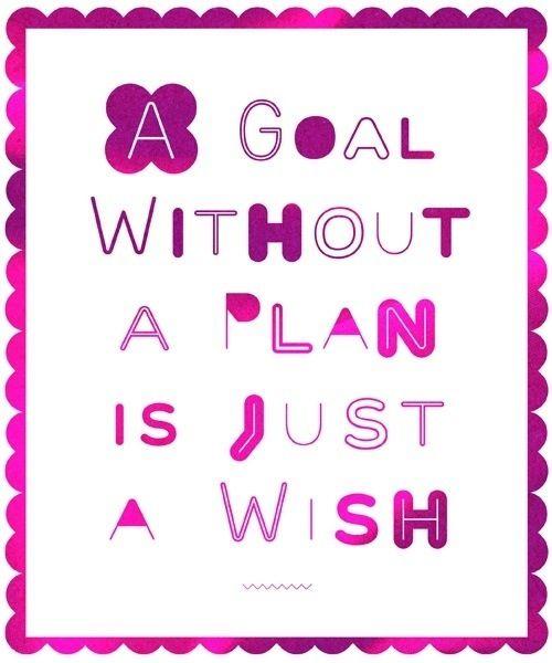 A half marathon training plan!