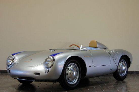 Own a vintage sports car.  1957 Porsche RS 550A Spyder :: California Porsche Restoration