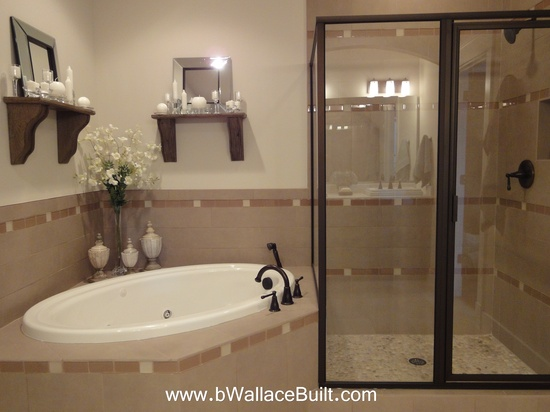 Tub and Walk in shower duo!