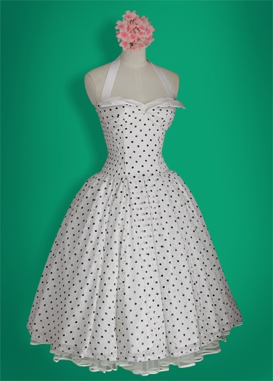 whirling turban pinup dress