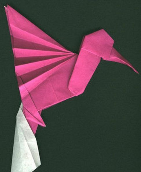 Hummingbird Origami Tutorial