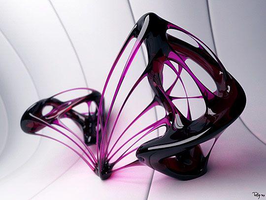 Amazing Abstract 3D Digital Art