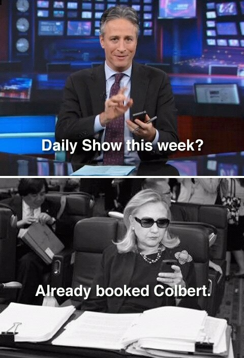 Hilary meme