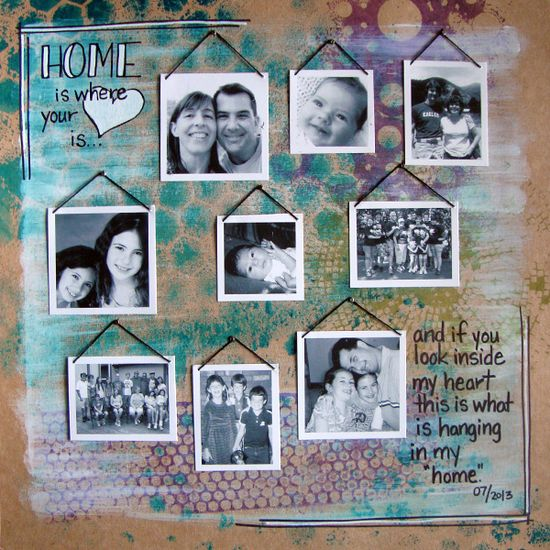 Scrapbooking Ideas Inspired by Gallery Walls - Scrapbooking Ideas, Scrapbook Layouts, Scrapbook Design