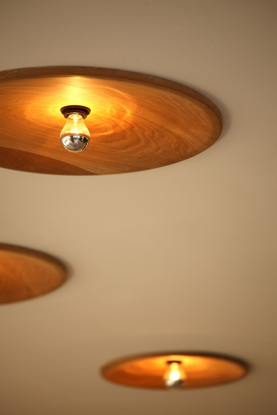 warm wood lighting