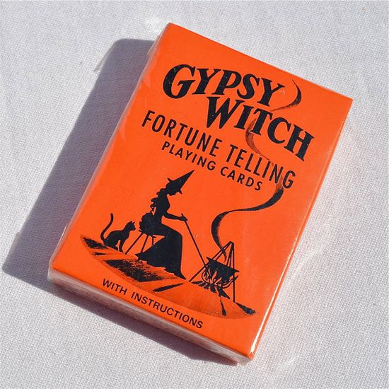 Vintage Gypsy Witch Fortune Telling cards.