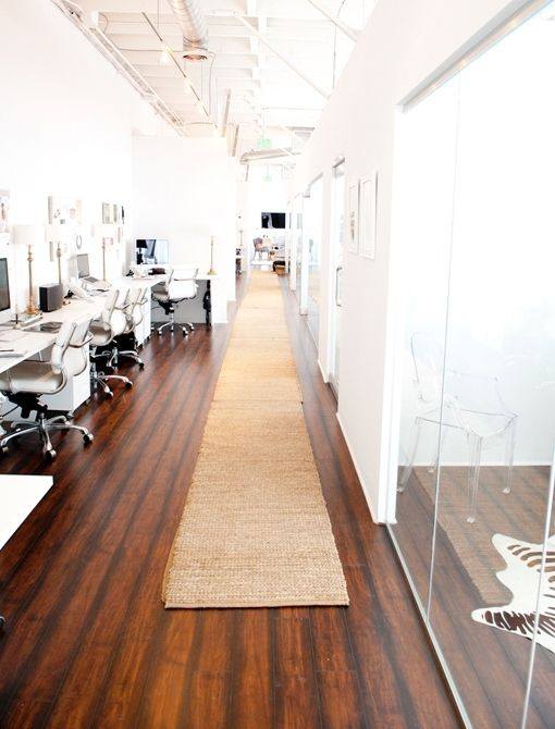 A beautiful big office! Although I would design with color differently, I love how spacious this office is. Great for having my top workers close by for fashion emergencies! I would love my Office to be in NYC