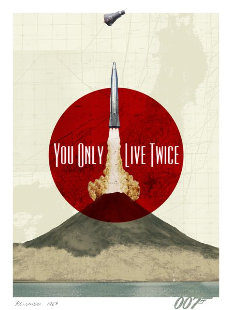 007 You Only Live Twice by Herring and Haggis