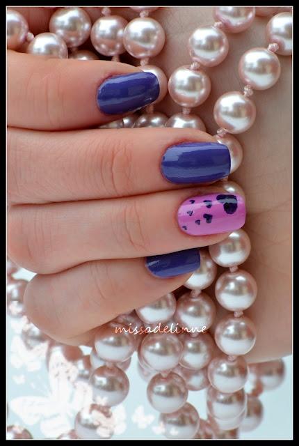 Hearted Nail Art