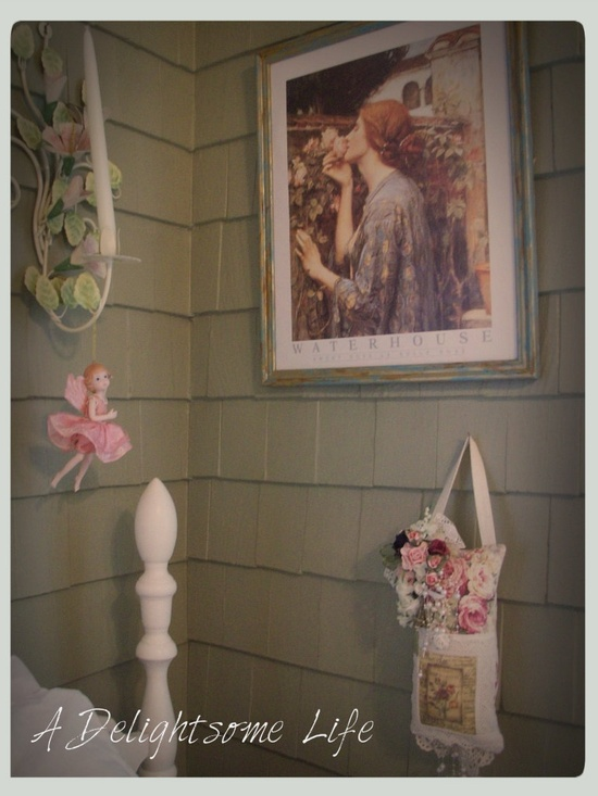 A Delightsome Life: Romantic - Garden Cottage Style