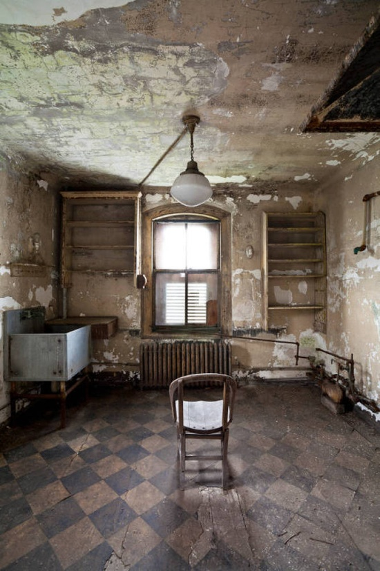 Ellis Island Hospital Complex, New York Harbor, NY: Once the largest US Public H