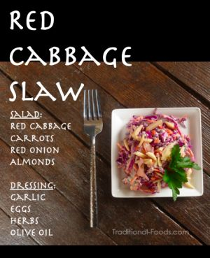 Red Cabbage Salad @ Traditional-Foods...