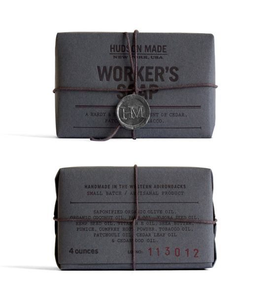 hudson made worker's soap.