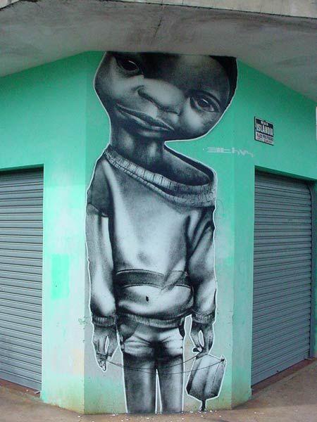 Beyond Banksy Project / Ethos