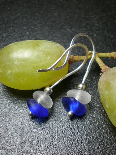 Sea Glass Jewelry from www.seafinddesign...