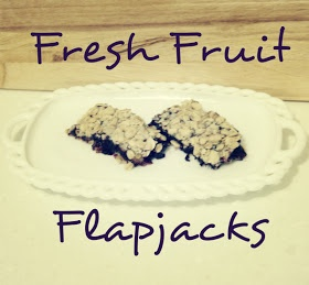 Fresh Fruit Flapjacks #recipe