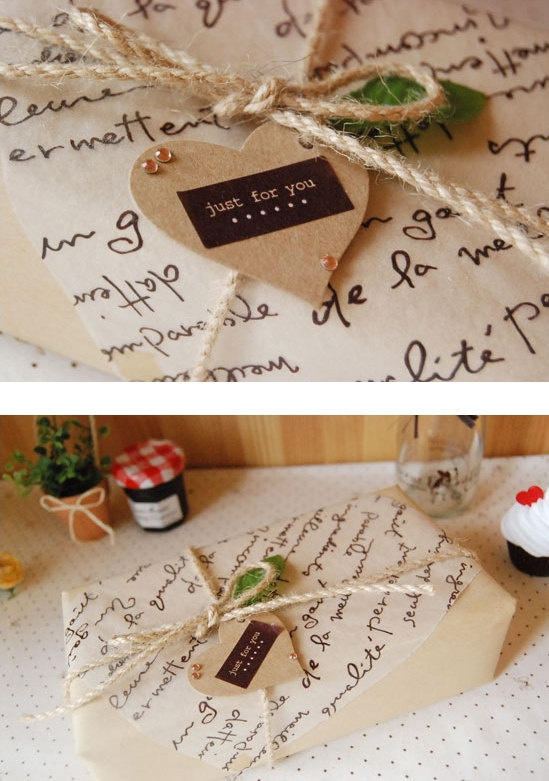 Very cute gift wrapping