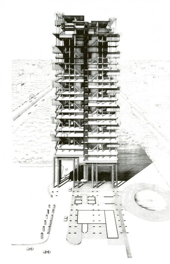 The Colonnade Condominiums by Paul Rudolph