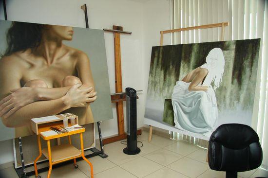 Omar Ortiz - studio