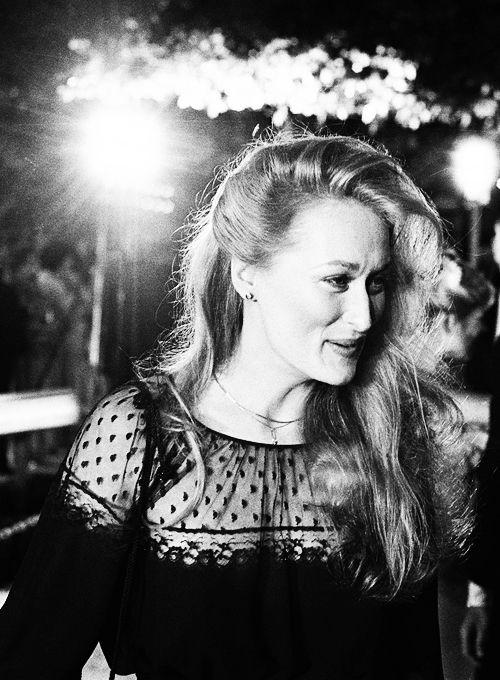 Meryl Streep, photographed by Ron Galella, 1979.