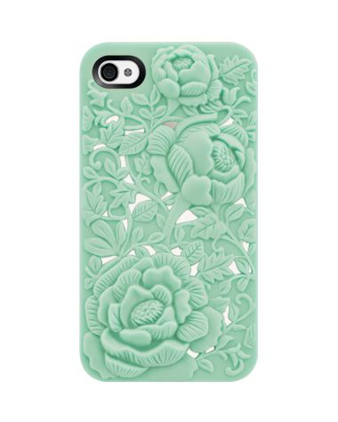Love this iPhone case. Can't decide between the mint and the pink, though!