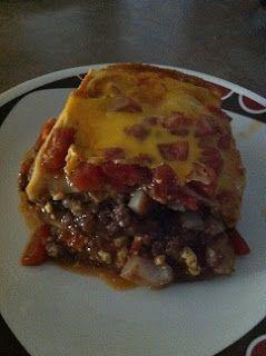 Day By Day Homestead: Enchilada Lasagna