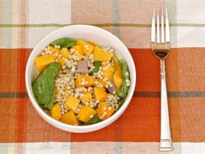 Couscous with Spinach and Squash