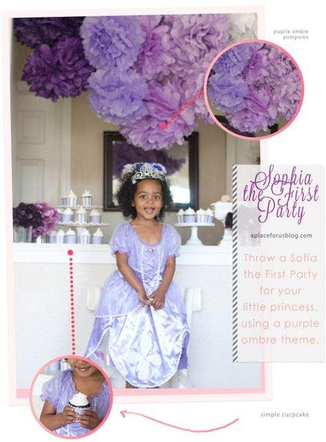 Disney Jr. Sofia the First Party- A Place for Us Blog