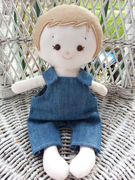 Dandelion Wishes - My friend Noah - made using the Elf Pop Boyd Doll Sewing Pattern www.etsy.com/...