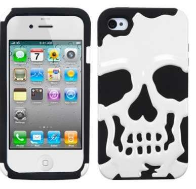 Skull iPhone Case  #Skull #iPhone #Christmas www.trendhunter.com/