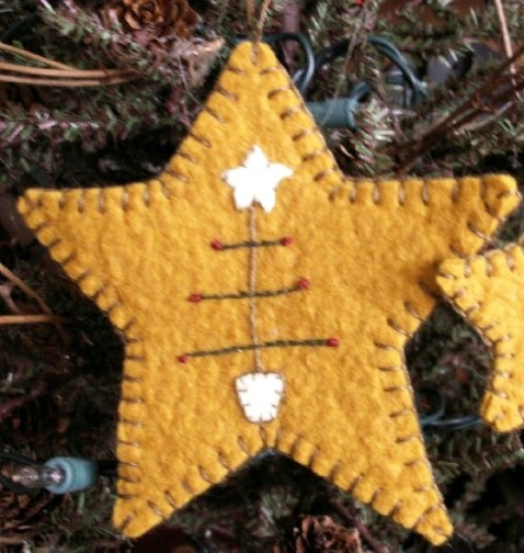 Star ornament...