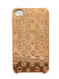 Marc by Marc Jacobs Gold iPhone case