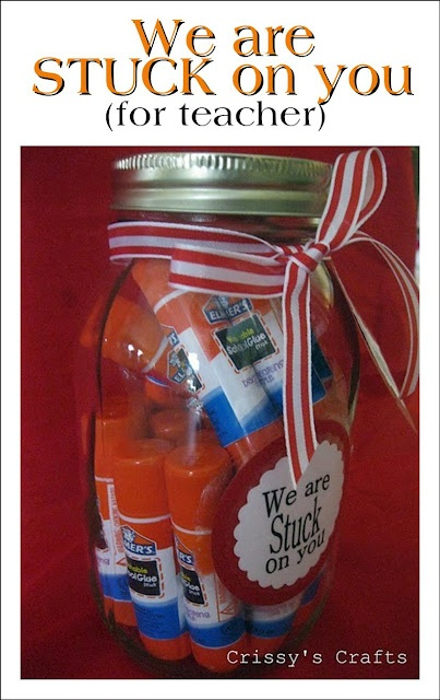 Teacher Appreciation Gift-Teachers love school supplies for gifts!  See More