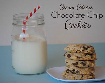 Cream Cheese Chocolate Chip Cookies!