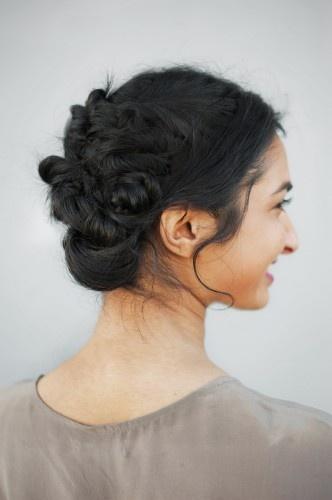 braids in updo