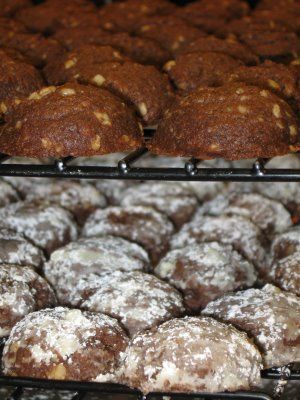 Nourishment for the Way: Mocha Nut Cookies