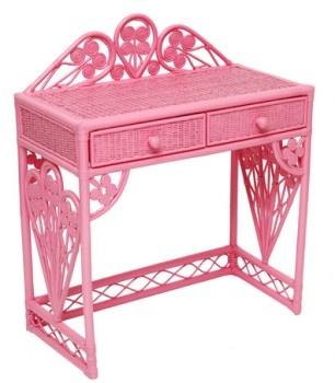 Peacock Pink Desk