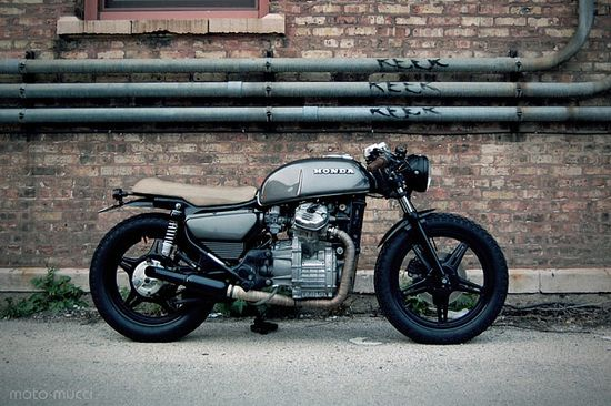 Solid looking cafe racer