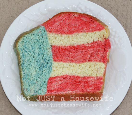 You are here: Home / Fun Food / 4th of July Bread!!!  4th of July Bread!!!