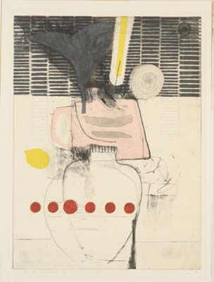 Sunflower, No. VI, print by Takeshi Takahara, 1990 | University of Iowa Museum of Art Digital Collection | Iowa Digital Library