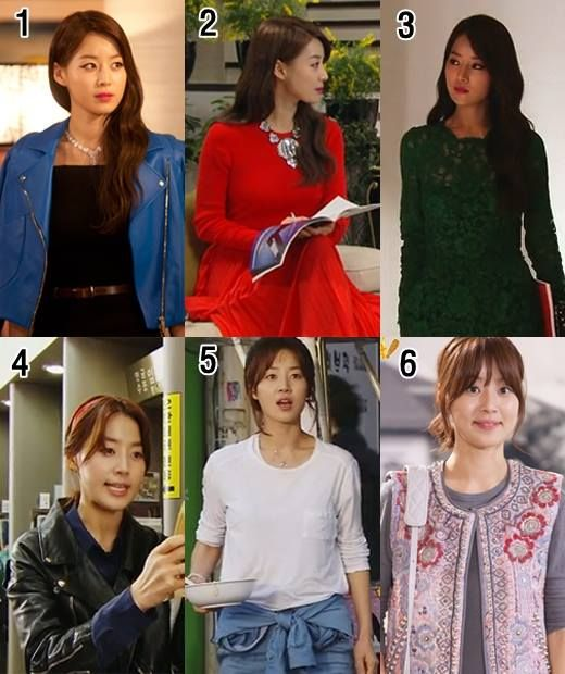Korean star drama fashion