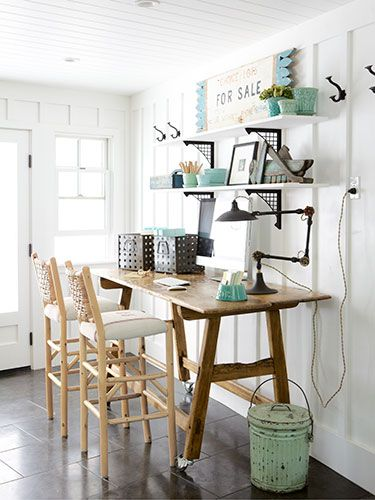 Country Chic home office