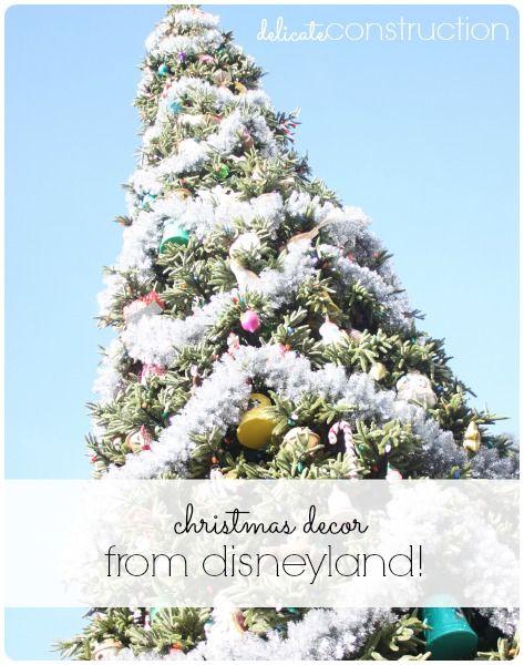 Christmas Decor From Disneyland! - Delicate Construction #Christmas #decor #Disneyland
