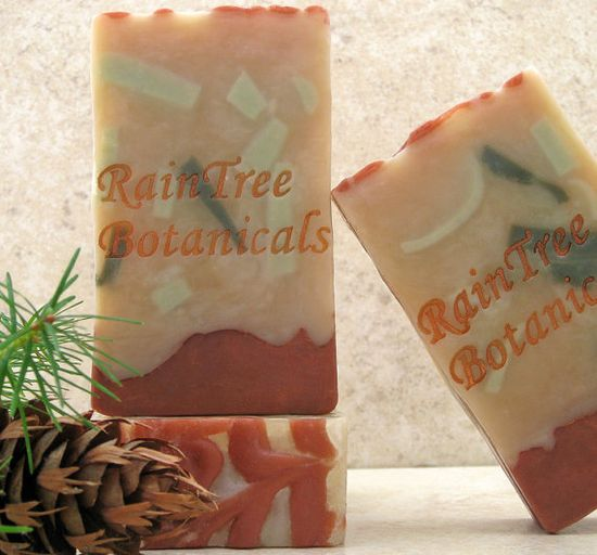 Northwest Forest Cold Process Artisan Soap with Olive Oil, Avocado Oil and Shea Butter via Etsy