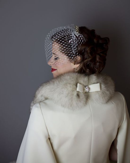 Vintage Winter Bride