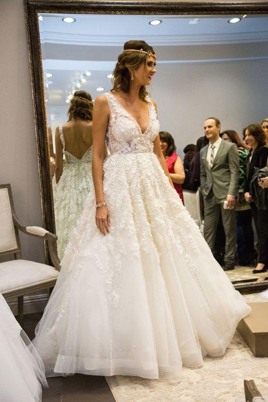 Romantic wedding dress by #JorgeManuel